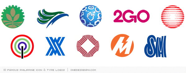 10 Famous Philippine Icon Type Logos