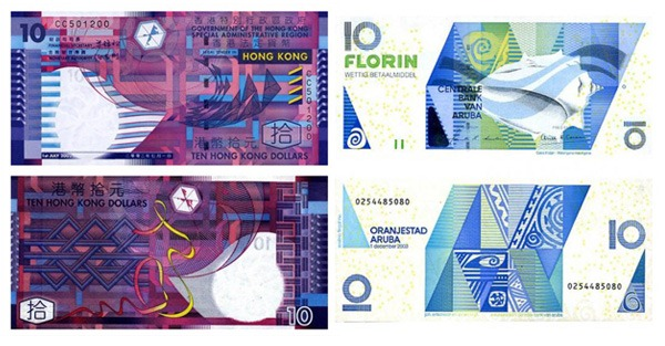 hongkong-aruba-banknotes